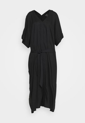 CARRO KAFTAN - Shirt dress - black dark