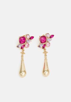 PCROGE EARRINGS - Earrings - gold-coloured