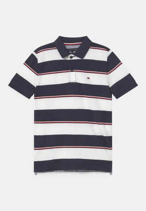 GLOBAL STRIPE DETAIL - Polotričko - twilight navy