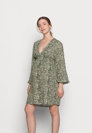 MLMAYRA DRESS  - Day dress - snow white/green