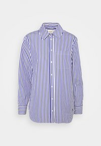 PANCA - Button-down blouse - blue