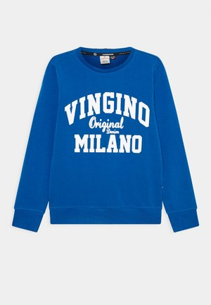 LOGO CREW - Sweatshirt - pool blue