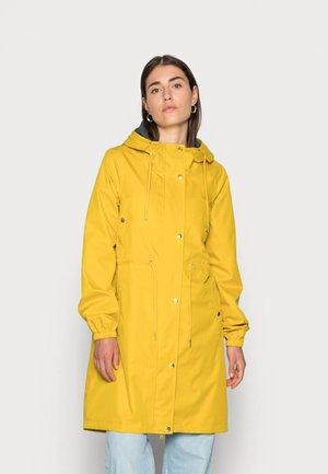 AALBORG RAIN COAT - Vodotěsná bunda - dark yellow