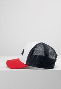 Fila - TRUCKER SNAP BACK - Gorra - black iris/true red/bright white - 3