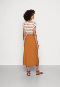 Esprit - SKIRT - A-line skirt - caramel - 2