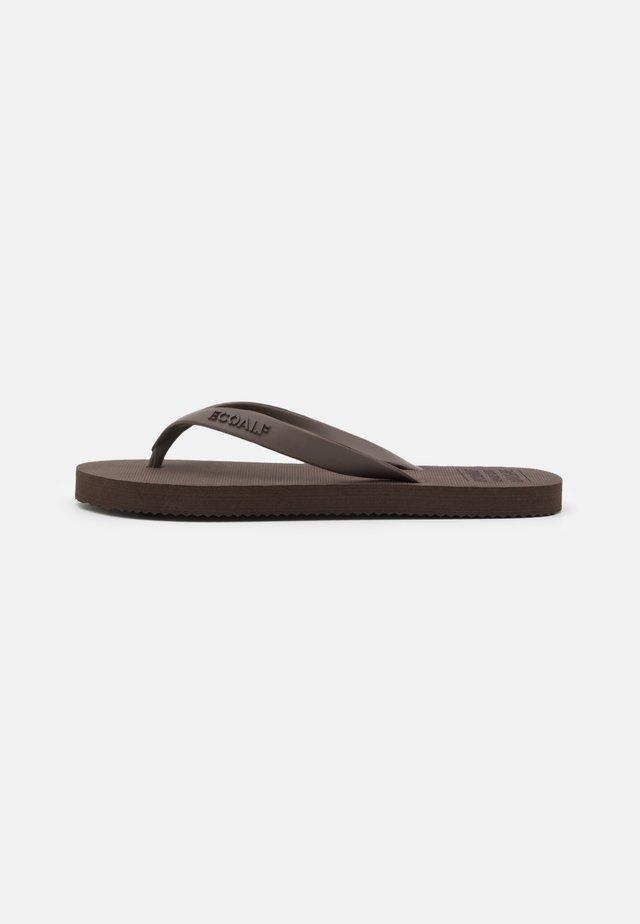 ALGAM KIDS UNISEX - Pool shoes - brown