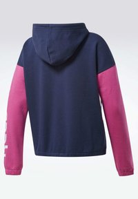 Reebok - TRAINING ESSENTIALS LOGO HOODIE - Zip-up hoodie - blue - 2