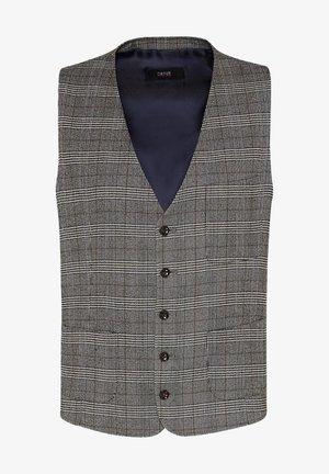 CILAVORO - Suit waistcoat - brown