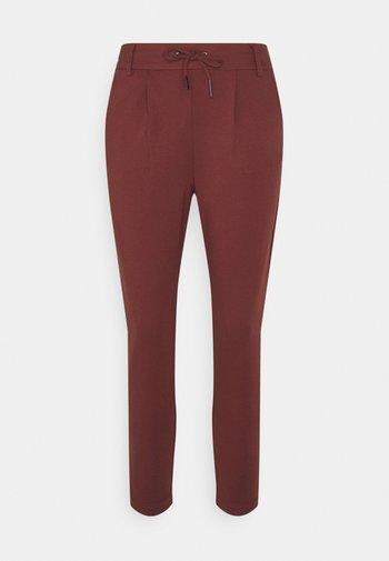 ONLPOPTRASH EASY COLOUR PANT - Trousers - sable