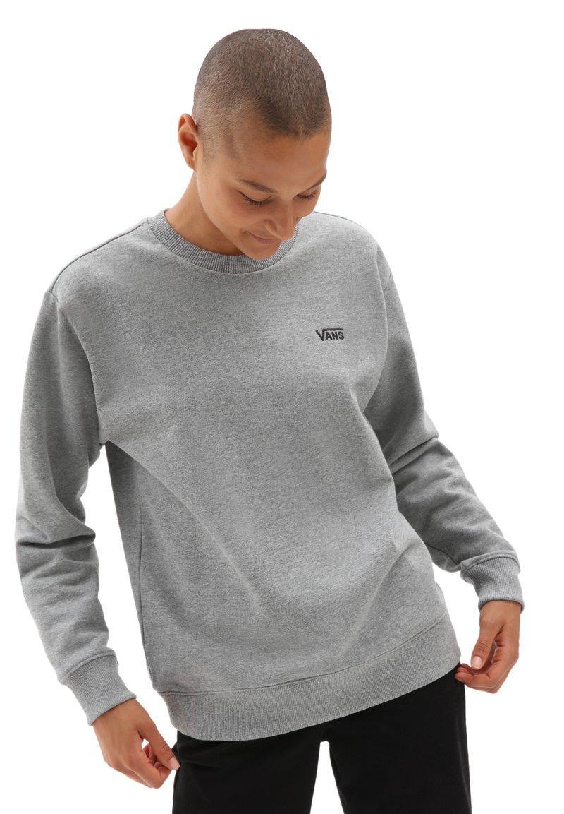 Vans - WM FLYING V BFF FT CREW - Sweater - cement heather