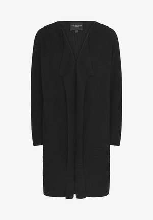 OATMEAL WATERFALL  - Cardigan - black