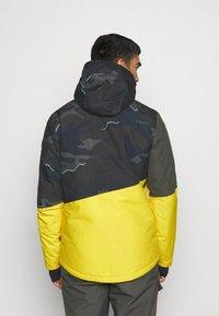 Brunotti - IDAHO MENS SNOWJACKET - Snowboardová bunda - cyber yellow - 2