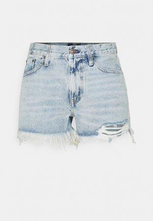 WALFRID  - Denim shorts - light indigo