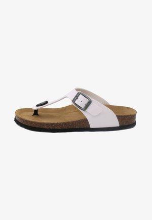 T-bar sandals - blanco