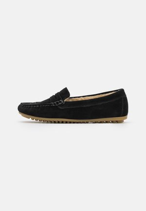 COMFORT LEATHER - Pantoffels - black