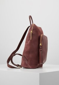 mint&berry - LEATHER - Rucksack - dusty rose - 3