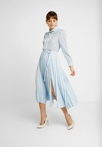 Sister Jane - WANDERING WINGS EMBELLISHED BLOUSE - Button-down blouse - light blue - 1