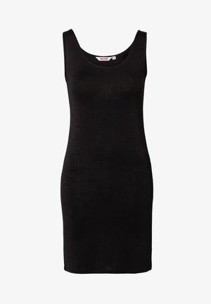 TUNIC SANNE - Pouzdrové šaty - black