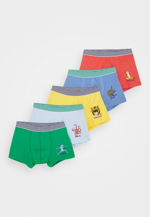 BOXERS 5 PACK - Panties - multicoloured