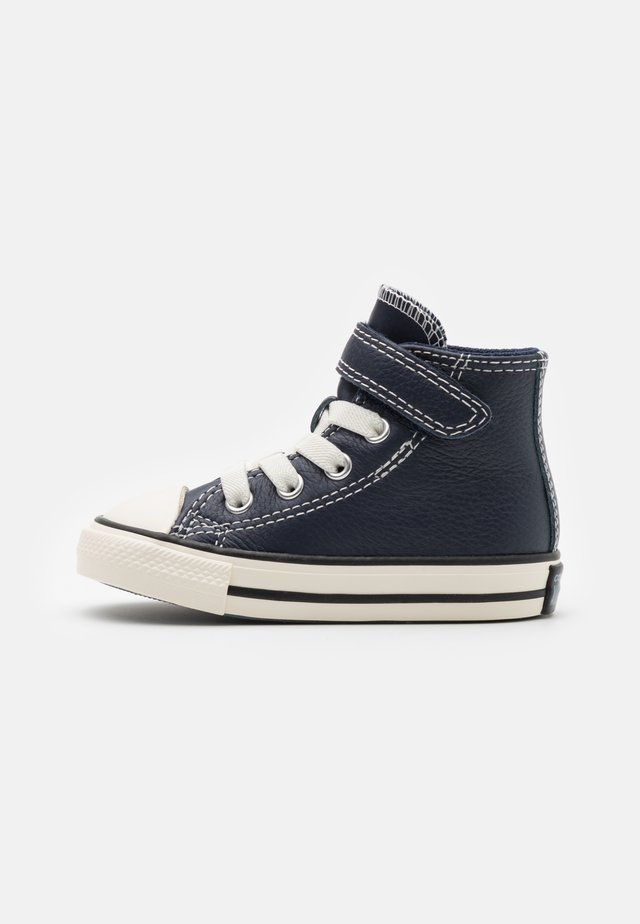 CHUCK TAYLOR ALL STAR UNISEX - Sneakersy wysokie - obsidian/egret/lakeside blue