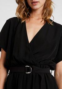 Weekday - JESS DRESS - Denní šaty - black - 5