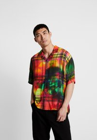 Jaded London - TIE DYE CHECK - Shirt - multi-coloured - 0