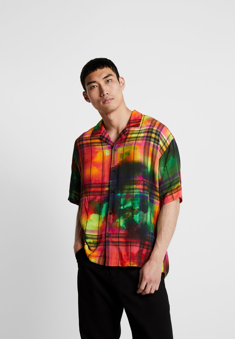 Jaded London - TIE DYE CHECK - Shirt - multi-coloured