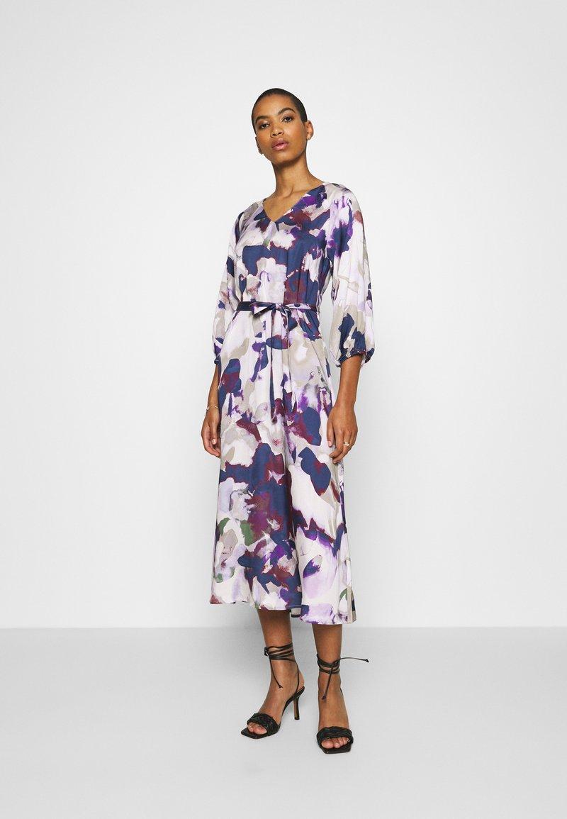 Part Two - ELISE - Day dress - purple