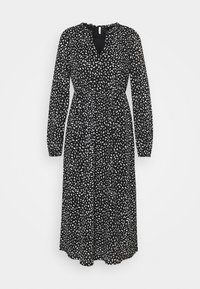 ONLY Petite - ONLPELLA FRILL DRESS PETIT - Vestido ligero - black - 0