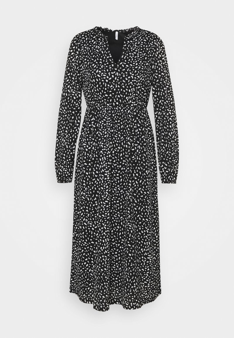 ONLY Petite - ONLPELLA FRILL DRESS PETIT - Vestido ligero - black