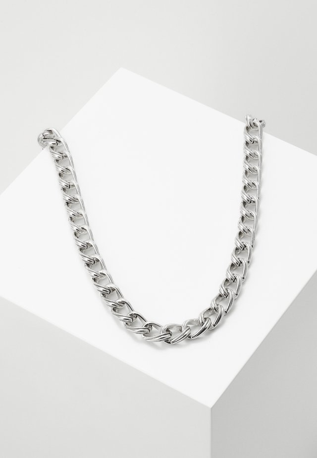 FREMONT NECKLACE - Collana - silver-coloured