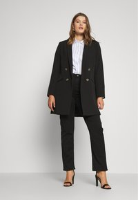 Lee Plus - CLASSIC - Straight leg -farkut - black