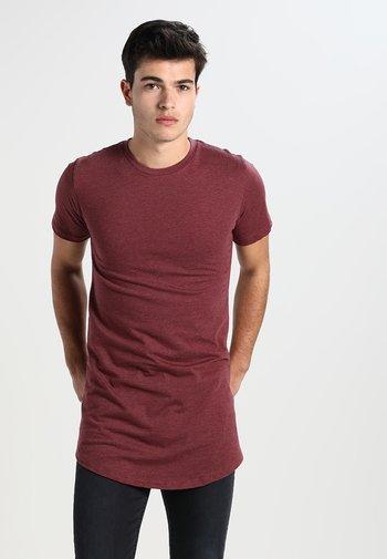 JAX - Basic T-shirt - bordeaux