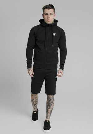 EXHIBIT ZIP THROUGH HOODIE - Kardigan - black