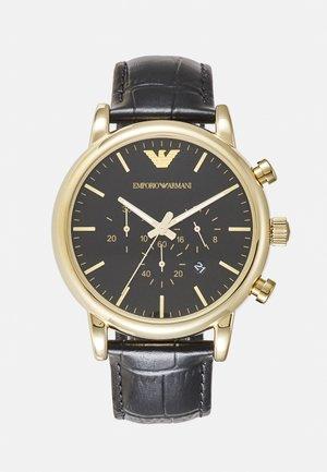 Kronografklockor - black