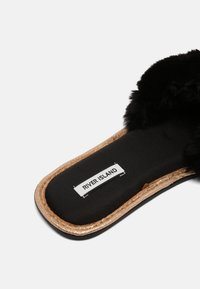 River Island - Slippers - black - 4