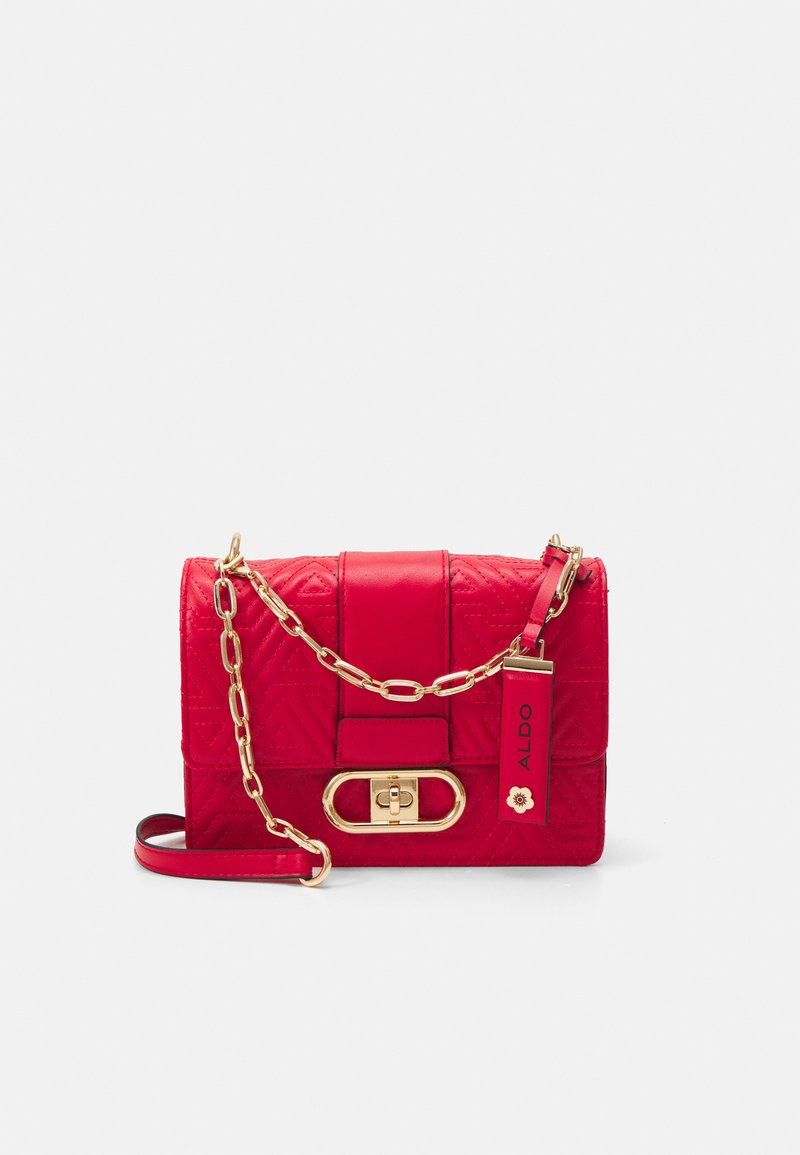 ALDO - GALILIVIEL - Across body bag - mars red