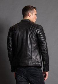 Tigha - ASHTON - Leather jacket - black - 2