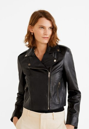 SIBILA6 - Leather jacket - czarny