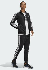 adidas Performance - Trainingspak - top:black/white bottom:black/white - 0