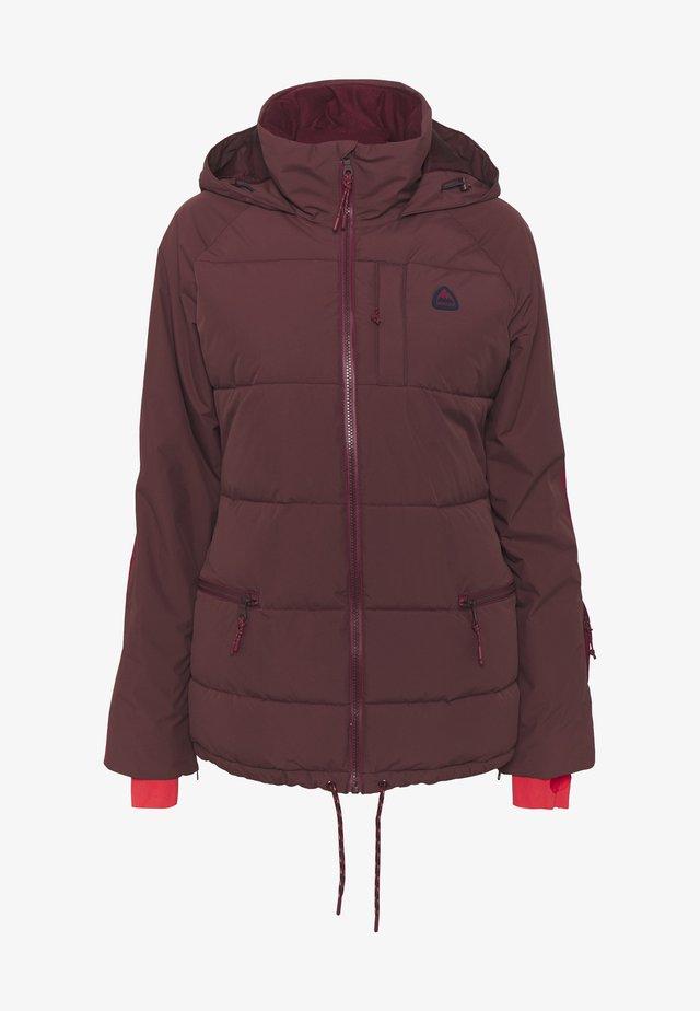 KEELAN - Snowboard jacket - dark red