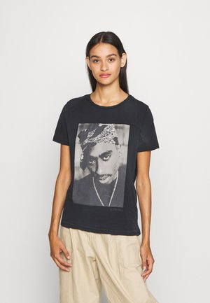 ONL2PAC LIFE TEE - T-shirt con stampa - black