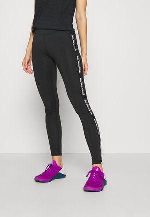 ONPADREY TRAINING - Tights - black/white