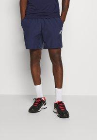 ASICS - CLUB SHORT - Pantalón corto de deporte - peacoat/graphite grey - 2