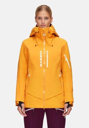 LA LISTE - Hardshell jacket - golden