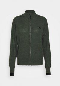 G-Star - CORE ZIP THRU - Vest - dark bronze green - 4