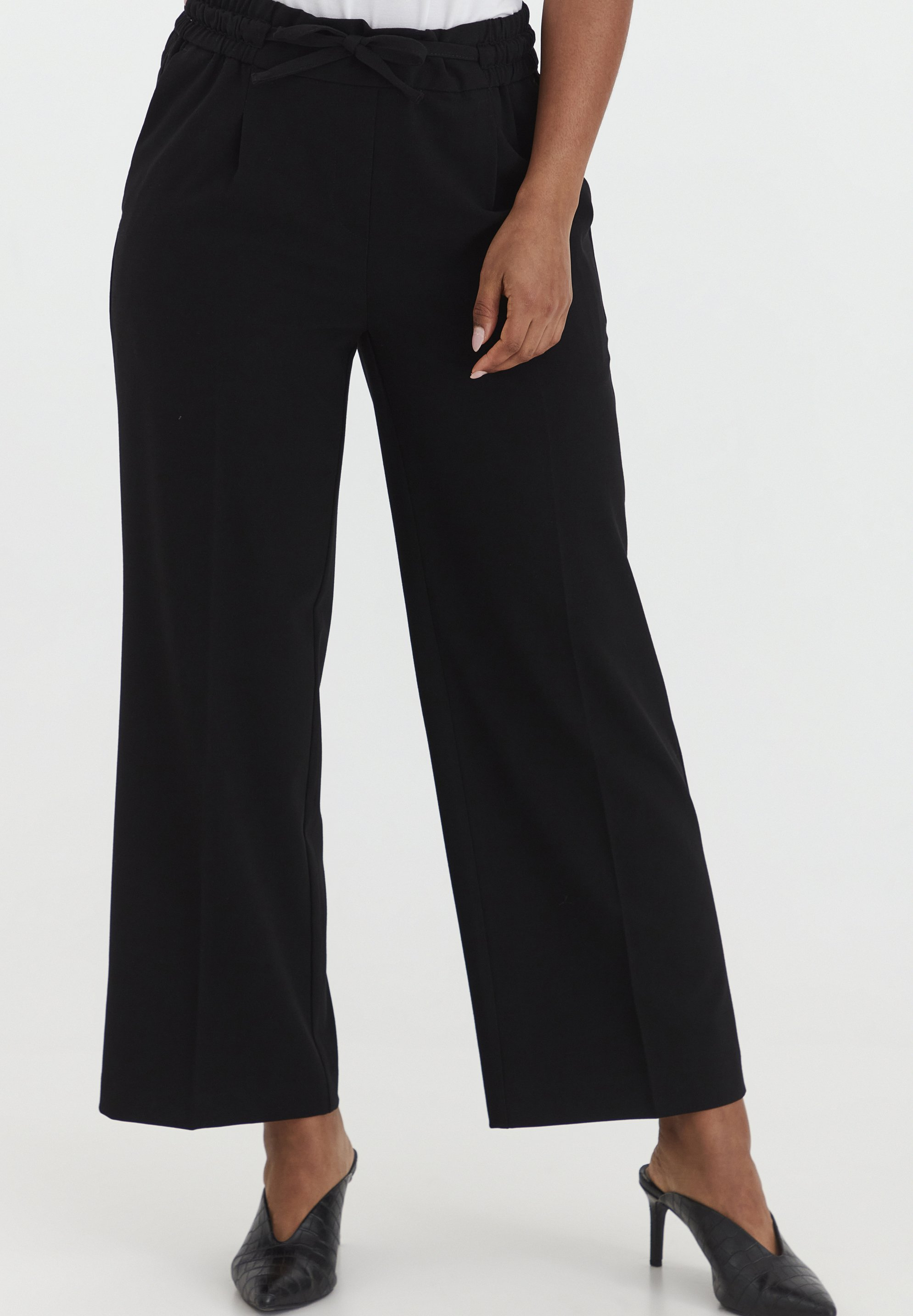 Femme BYDANTA CROP - Pantalon classique