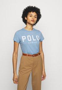Polo Ralph Lauren - Print T-shirt - carolina blue - 0
