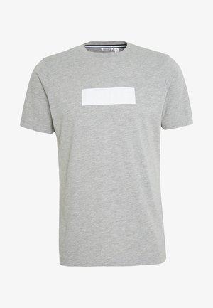 SPORT TEE - T-shirt med print - light grey melange