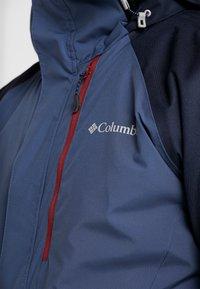 Columbia - WILDSIDE JACKET - Ski jas - dark mountain/collegiate navy heather - 6